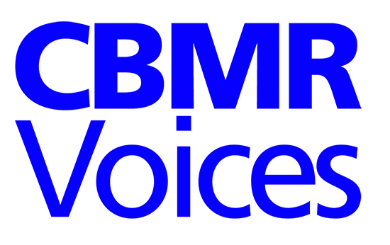 The CBMR Voices logo